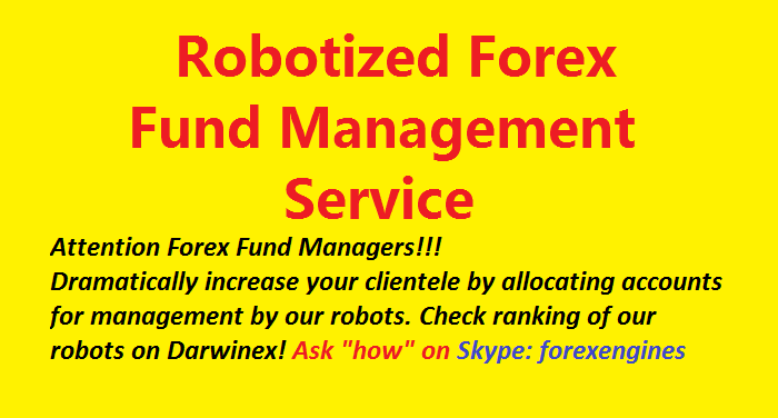 Forex fund managers wanted