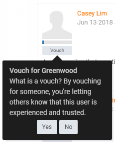 Vouch User